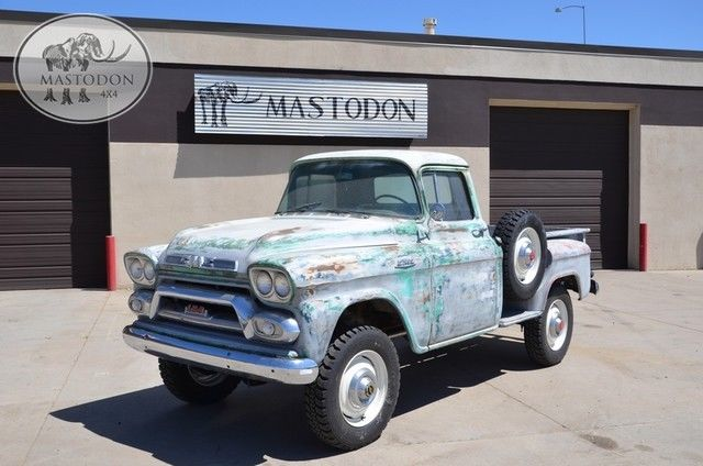 1959 GMC NAPCO PICK UP 4X4 NAPCO FORESTRY TRUCK