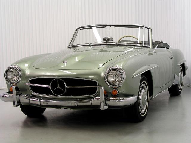 1959 Mercedes Benz 190sl Roadster Rare Survivor