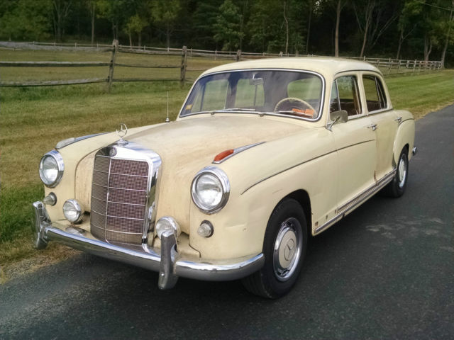 1959 mercedes benz 220s ponton for sale photos technical