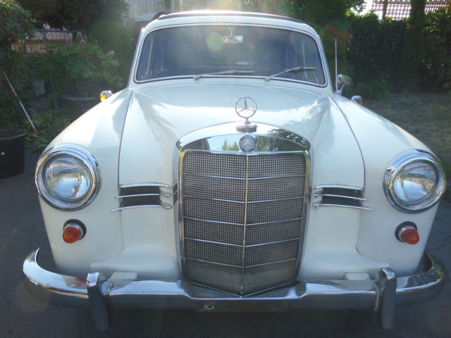 1959 Mercedes-Benz 190-Series 4-door