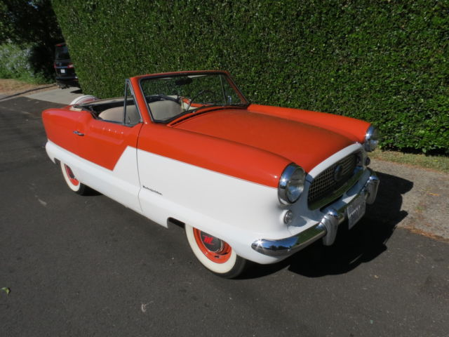 1959 Nash  (AMC) Metropolitan Convertible