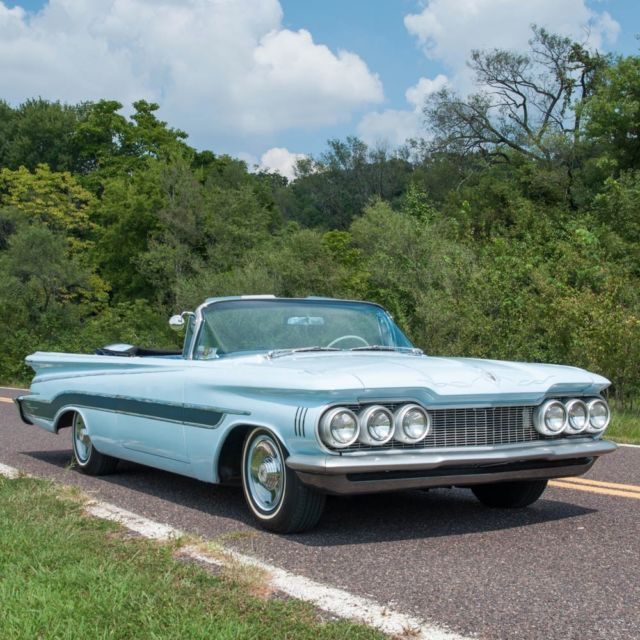 1959 Oldsmobile 98 Convertible Coupe Custom, Continental