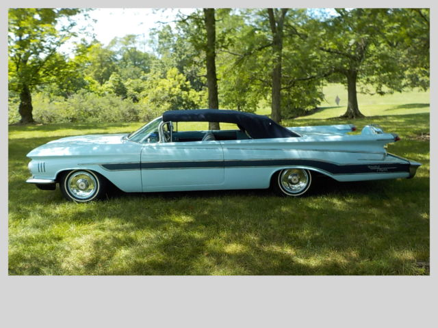 1959 Oldsmobile 98 Convertible Custom For Sale Photos Technical