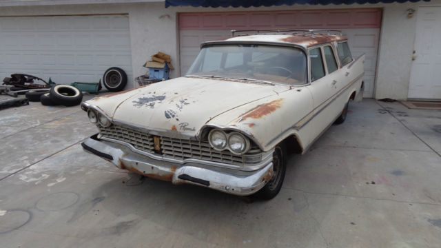 1959 Plymouth Fury WAGON