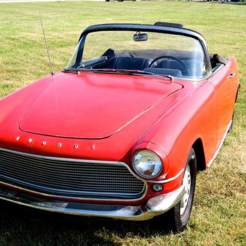 Nouvel 1959 Simca P60 Aronde Oceane Convertible, Extremely Rare UO-67