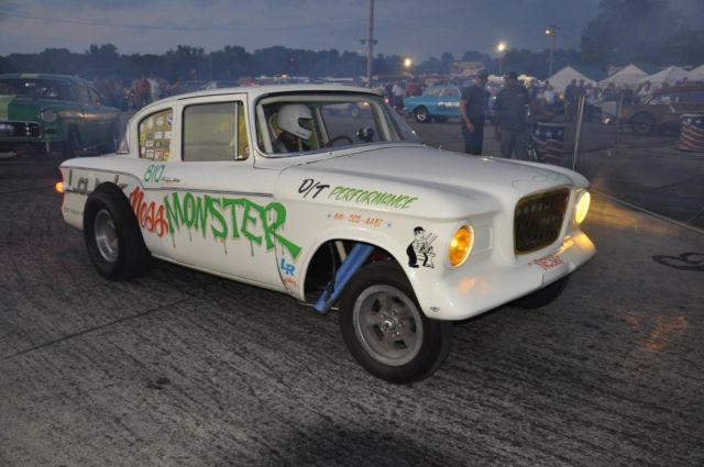1959 Studebaker Lark Nostalgic Drag Car Gasser Altered for sale