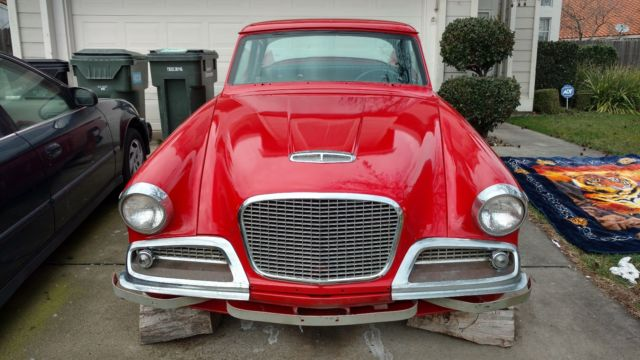 1959 Studebaker Silver Hawk Base