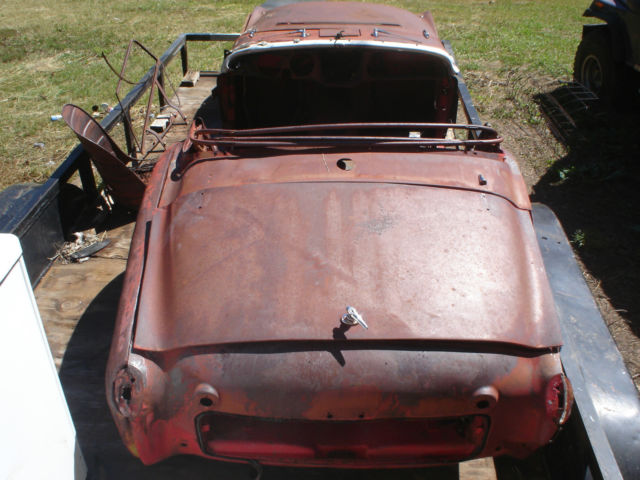 1959 Triumph Tr3 Body For Sale Photos Technical Specifications