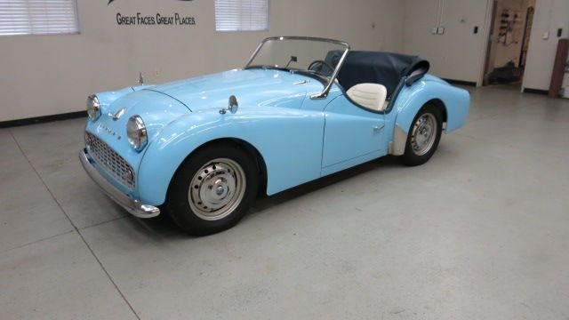 "1959 Triumph TR3 Roadster ""ground up"" restoration (less than 500 miles since)"