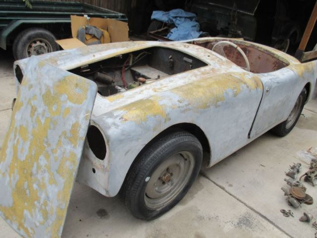 1959 TURNER 950S ENTRY LEVEL VSCCA RACECAR VINTAGE RACE BARN FIND PROJECT