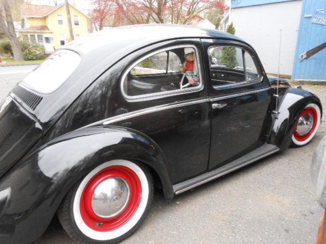 Punch Buggy Volkswagen >> 1959 Volkswagen Beetle Sedan, VW Bug, Punch Buggy Black for sale: photos, technical ...