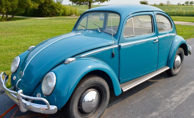 1959 VW Bug with Rebuilt 1960 VW Bug 1385 CC Engine (40 hp) for sale