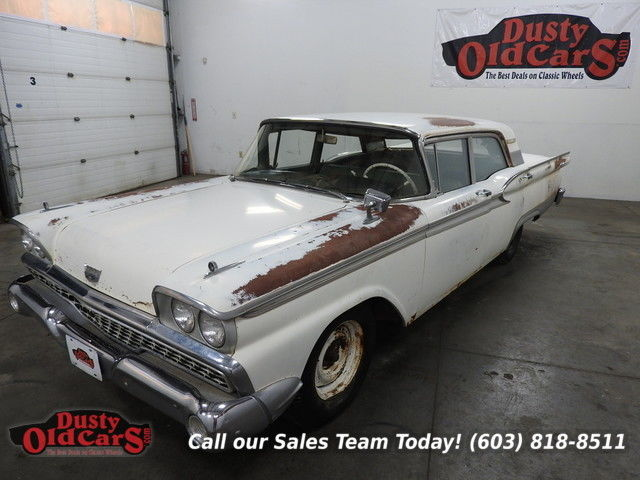 1959 Ford Galaxie Runs Drives Reno Car Needs Resto Rust Free