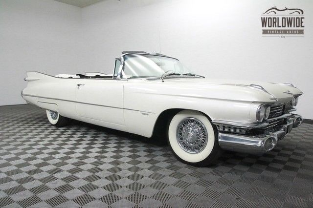 1959 Cadillac SERIES 62 ULTRA RARE! ONE FAMILY OWNER FULLY RESTORED!