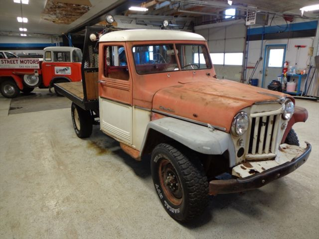1959 Willys 6-226 Pickup Jeep Flatbed