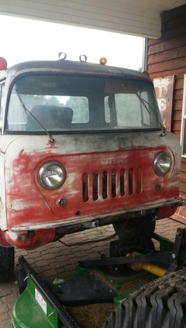 1959 Willys Jeep Fc 170 Truck Rare Collectable Vintage Old New Parts With Box For Sale Photos Technical Specifications Description