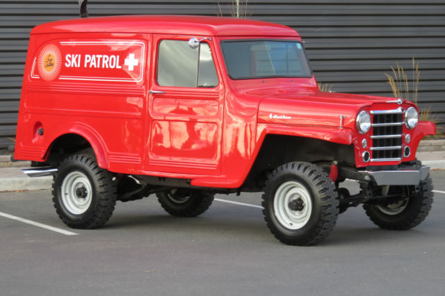 1959 Willys Panel Delivery 4x4