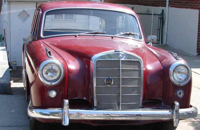 1959 Mercedes-Benz 200-Series 219 Lim