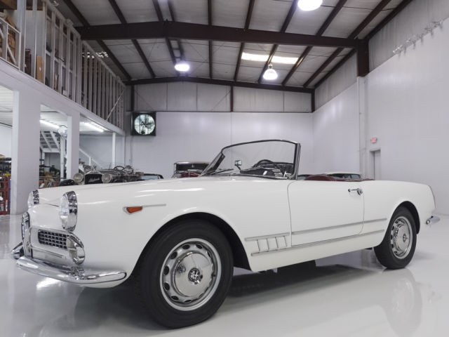 1960 Alfa Romeo Spider 2000 by Touring, ONLY 45,135 ACTUAL MILES!