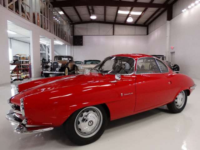 1960 Alfa Romeo Other GIULIETTA SPRINT SPECIALE BY BERTONE, GORGEOUS!