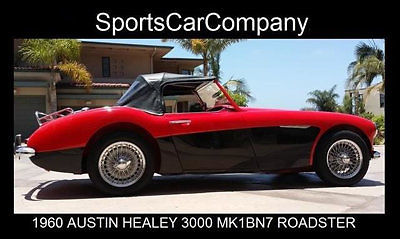 1960 AUSTIN HEALEY 3000 MK I BN7 ROADSTER RESTORED PRICE JUST REDUCED BY $10,000