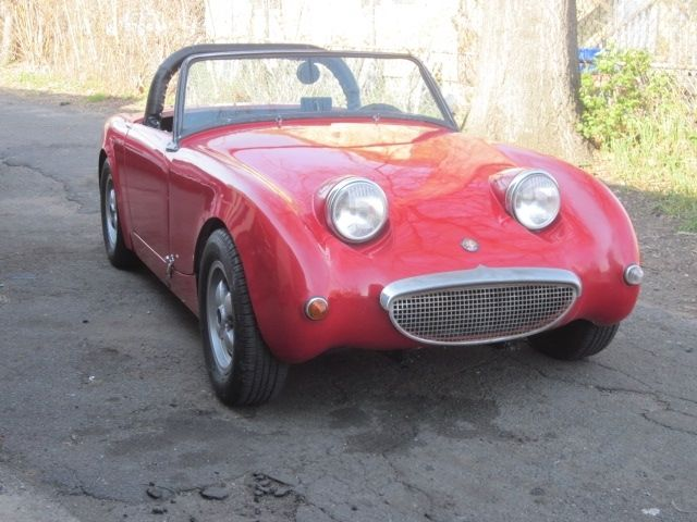 1960 Austin Healey Bug Eye Bugeye Sprite Classic Vintage Racing