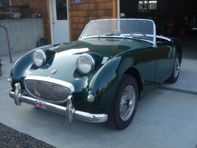 1960 austin healey bug eye or frogeye sprite cute british racing green nice car 1 1960 austin healey bug eye or frogeye sprite cute british racing wiring harness bugeye sprite at mifinder.co