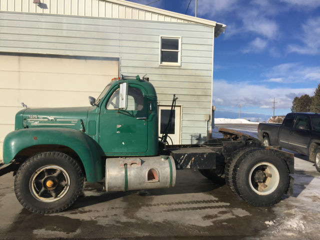 1960 B model Mack Diesel Truck Semi Tractor for sale: photos