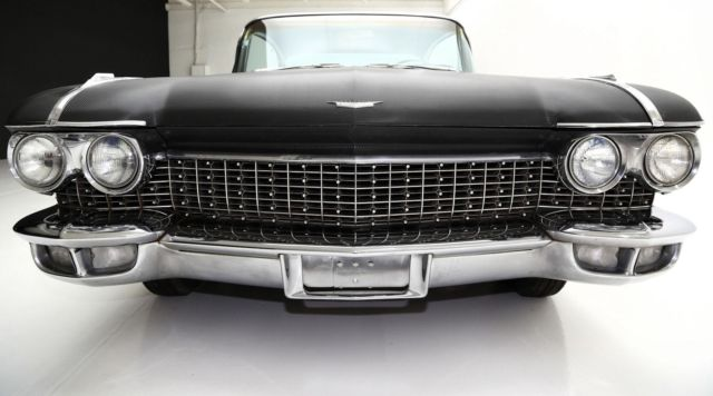 1960 BLACK CARBON CADILLAC FLEETWOOD, WRAPPED IN EXPENSIVE CARBON