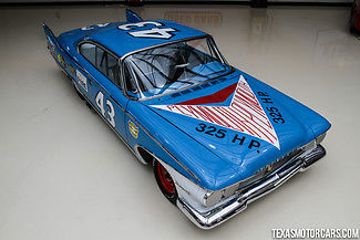 1960 Plymouth Fury NASCAR