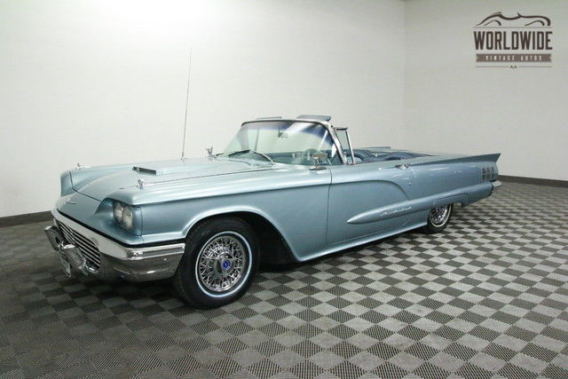 1960 Ford Thunderbird Tbird. EXTREMELY RARE J CODE. 430 V8. RESTORED!