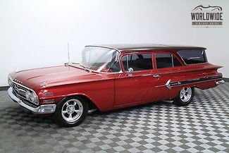 1960 Chevrolet Nomad 350 Crate engine, 350 3-speed Auto. CUSTOM