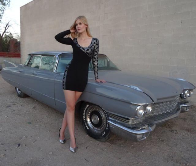 1960 Cadillac 4dr Hardtop Flat Top AC PW PS Series 62 SW