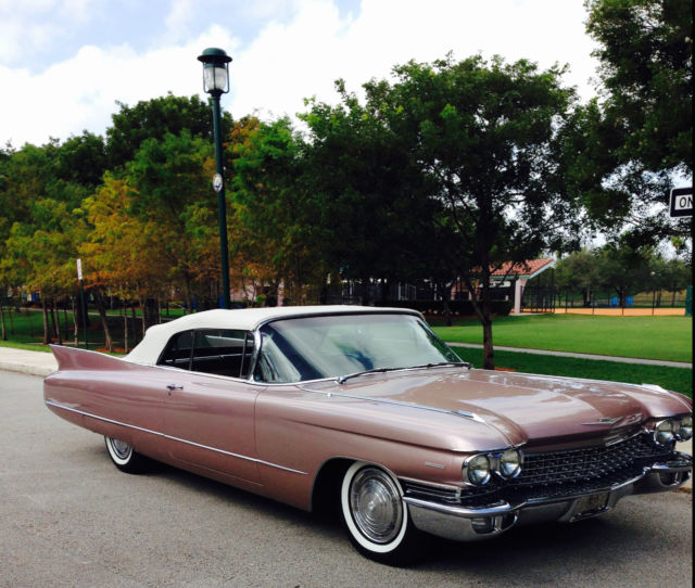 1960 Cadillac Convertible Series 62 6267 No Eldorado
