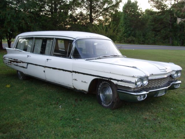 1960 Cadillac Hearse Ambulance Combination S&S Hearse Ambulance