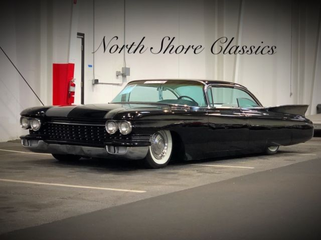 1960 Cadillac Other -AIR RIDE-SLICK JET BLACK PAINT-NEW INTERIOR-SLAMM