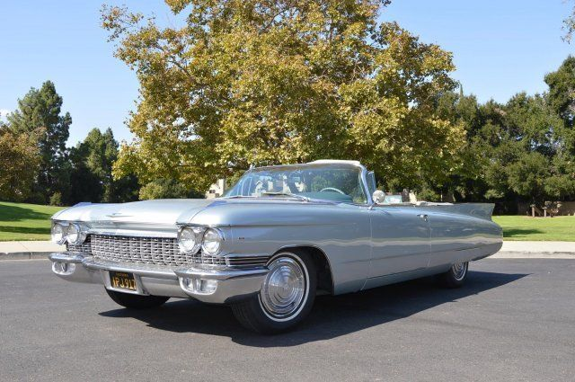 1960 Cadillac Series 62 Convertible Gorgeous Just Refinished Paint
