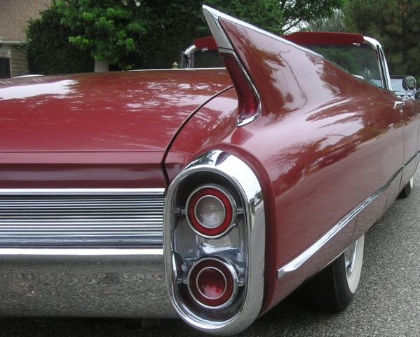 1960 Cadillac DeVille Series 62 Convertible