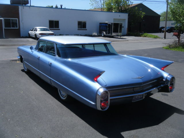 1960 cadillac series 62 nice colors like 1959 look flat top for sale photos. Black Bedroom Furniture Sets. Home Design Ideas