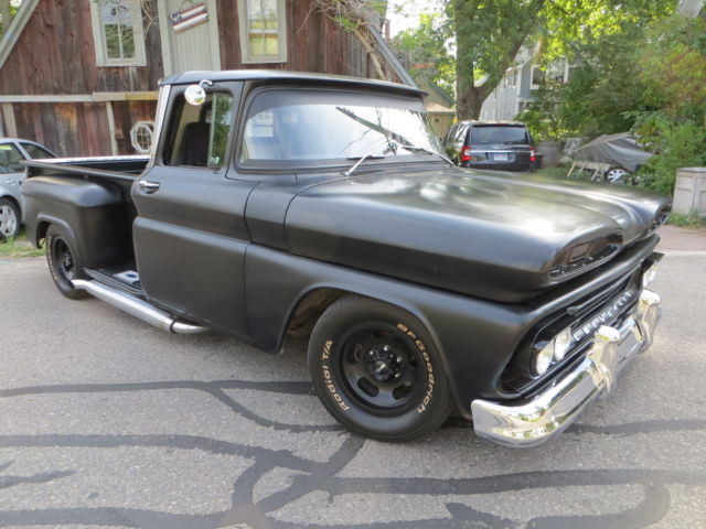 1960 chevrolet apache step side long box pick up for sale photos technical specifications
