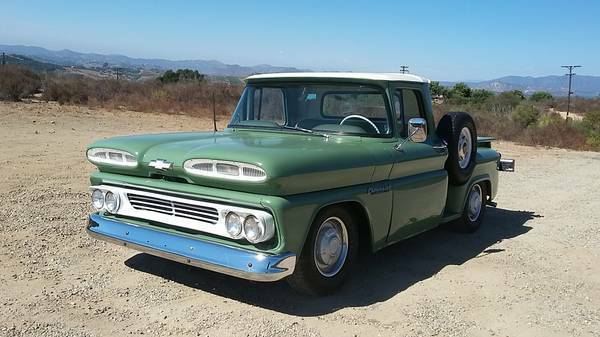 1960 Chevrolet Other Pickups leather