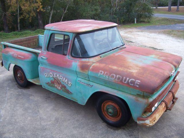 1960 Chevrolet C10 Swb Shop Rat Rod Apache Hot Lips Free Shipping W