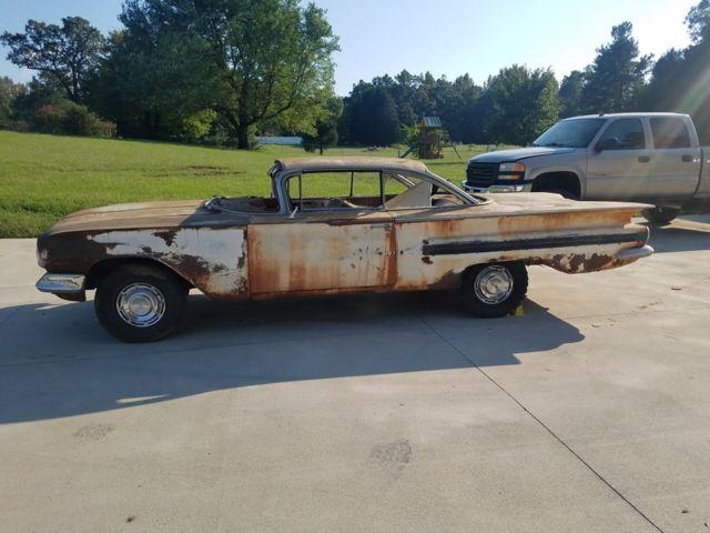 1960 Chevrolet Impala 2 Door Hardtop Project Parts Car 58 59 61 62