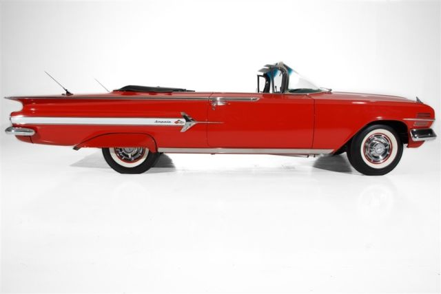 1960 Chevrolet Impala 348 Tri-Power Frame-Off