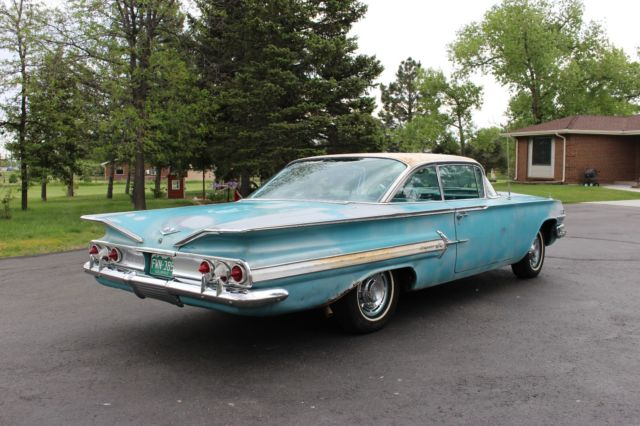 1960 Chevrolet Impala Numbers Matching 348 Tasco Turquoise Very Solid 60 Chevy For Sale Photos