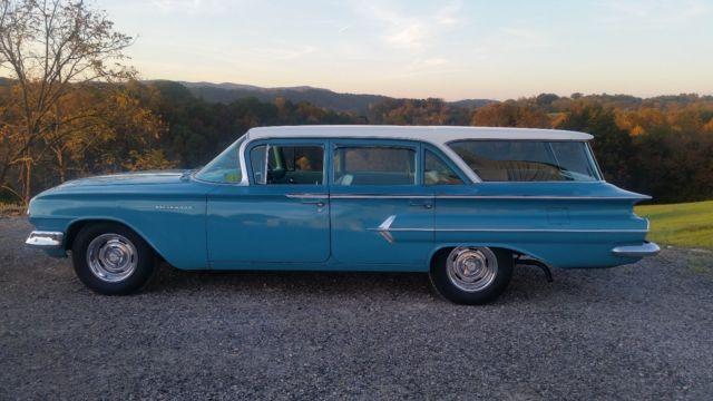 1960 Chevrolet Impala Parkwood Wagon Original Paint For