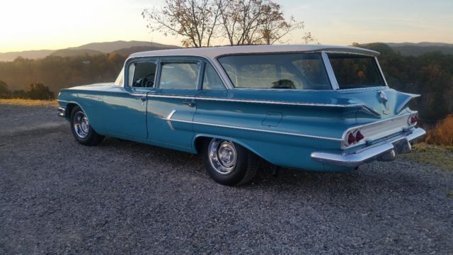 1960 chevrolet impala parkwood wagon original paint for. Black Bedroom Furniture Sets. Home Design Ideas
