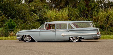 1960 chevrolet nomad impala bel air parkwood 4 door. Black Bedroom Furniture Sets. Home Design Ideas