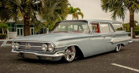 1960 Chevrolet Nomad Impala Bel Air Parkwood 4 Door