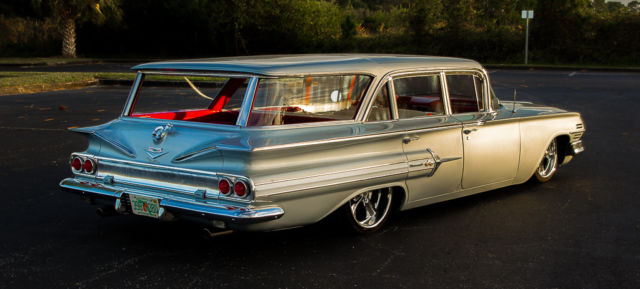 1960 chevrolet nomad wagon air ride street rod hot rod. Black Bedroom Furniture Sets. Home Design Ideas